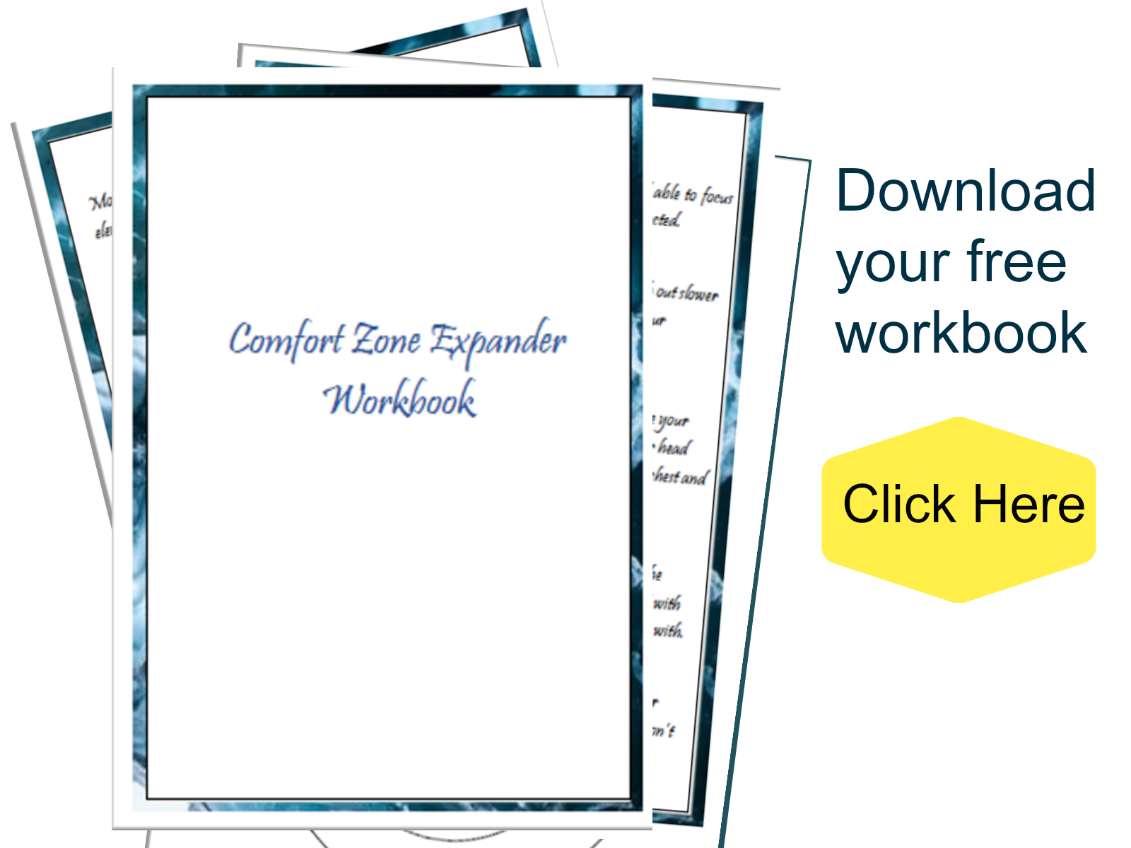 Comfort Zone Expander Workbook